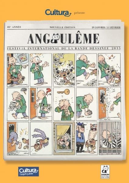 Affiche du 42e Festival d'Angoulême