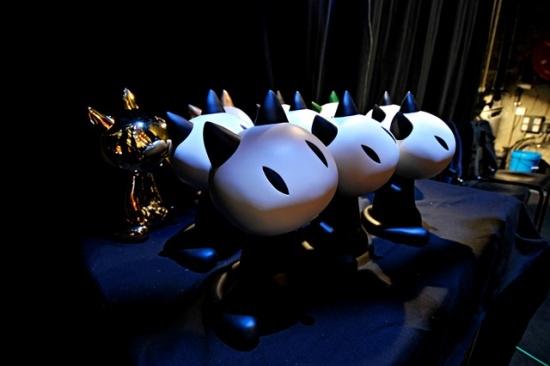 Les Fauves d'Angoulême, trophées du Festival FIBD - photo J.F Alvarez