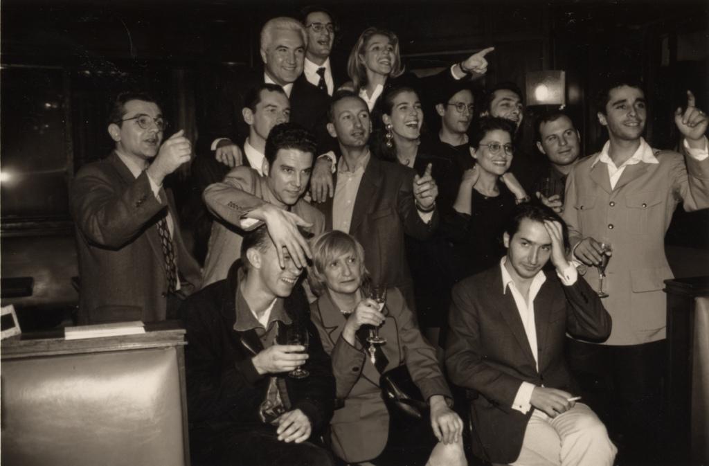 Photo du jury du Prix de Flore en 1994