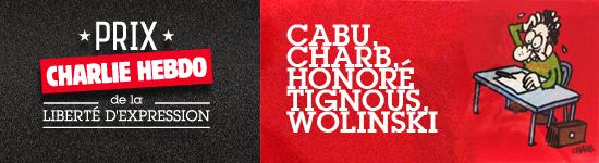 Prix Charlie Hebdo de la liberté d'expression