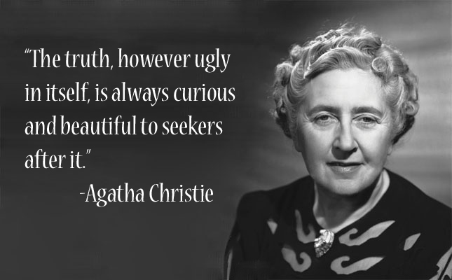 Citation en anglais d'Agatha Christie
