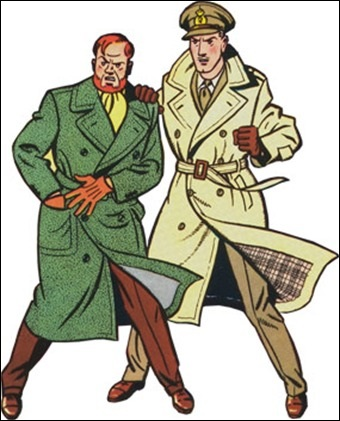 Les deux héros, Mortimer et Blake