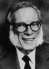 L'écrivain Isaac Asimov