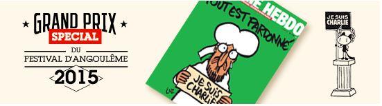 Grand Prix Special d'Angoulême Charlie Hebdo