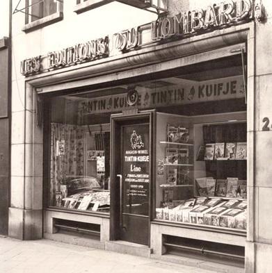 Boutique des éditions du Lombard