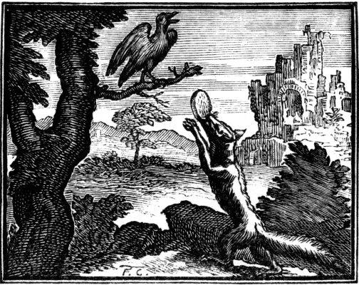 Fable de la Fontaine - Le Corbeau et le renard