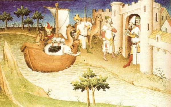 Le voyage de Marco Polo dans son Livre des Merveilles